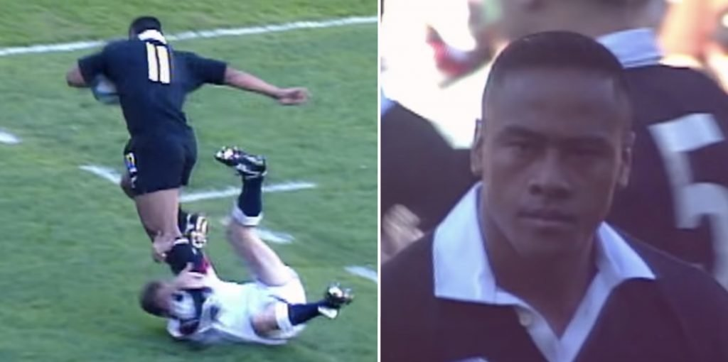 WATCH: On this day in 1995, Jonah Lomu changed rugby forever