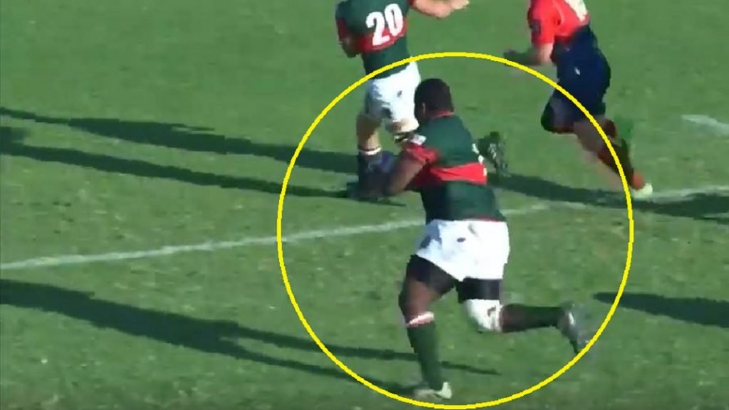 'Hands of an angel' - Loosehead prop 'fatman' play ends commentator