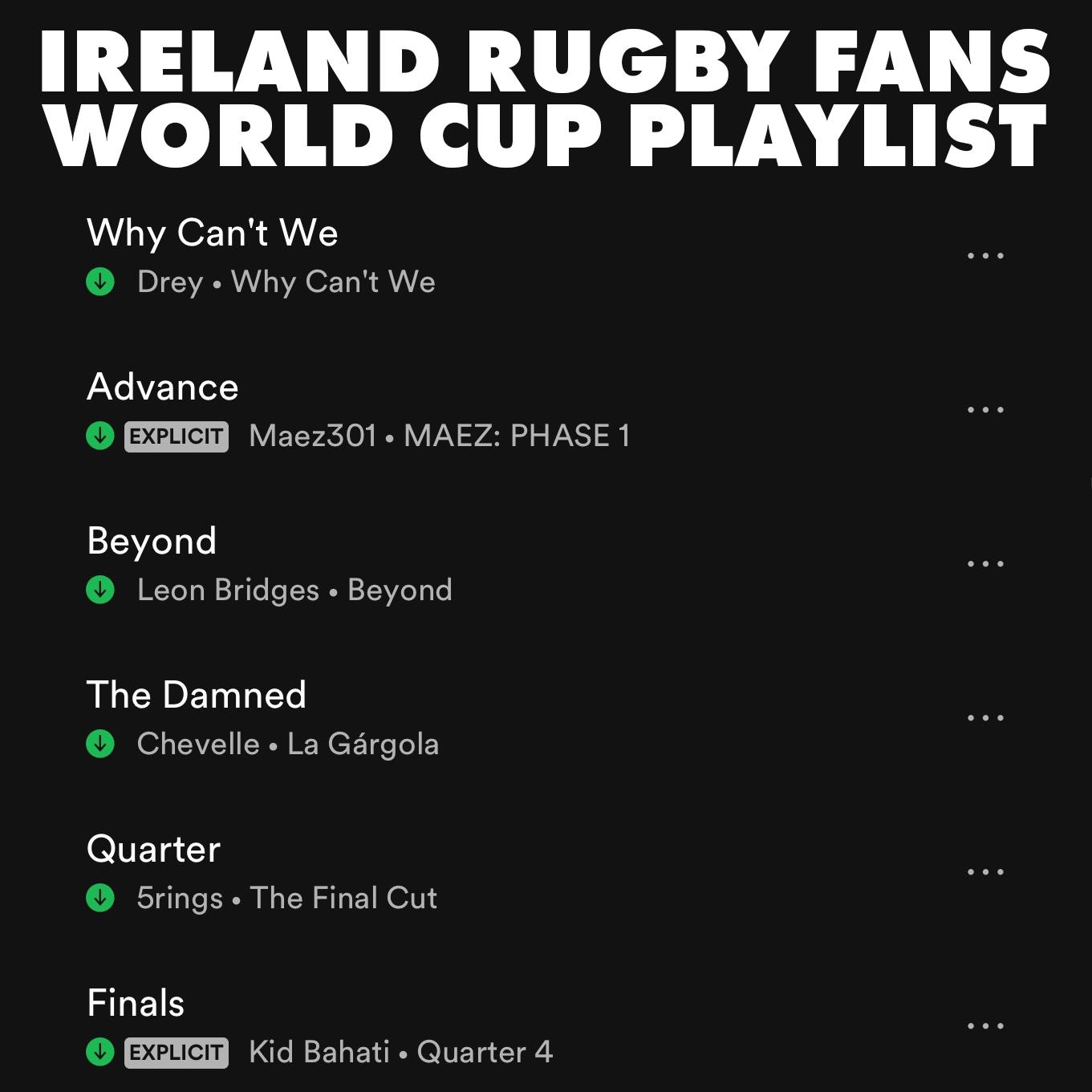spotify ireland