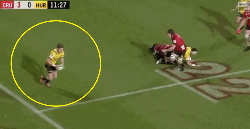 Beauden Barrett banana kick nears Quade Cooper levels of skill