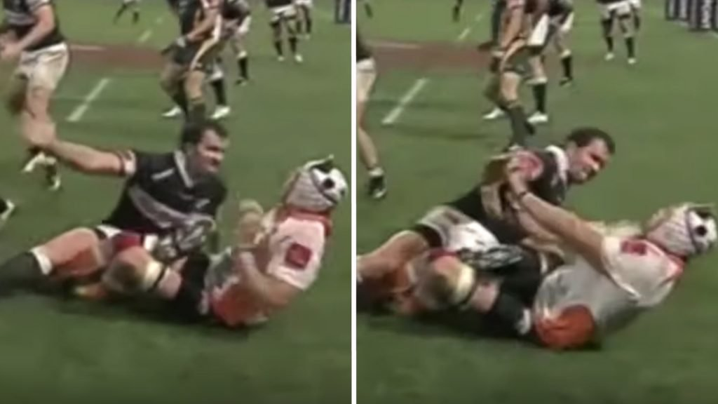 The full brutality of Bismarck Du Plessis has been revealed