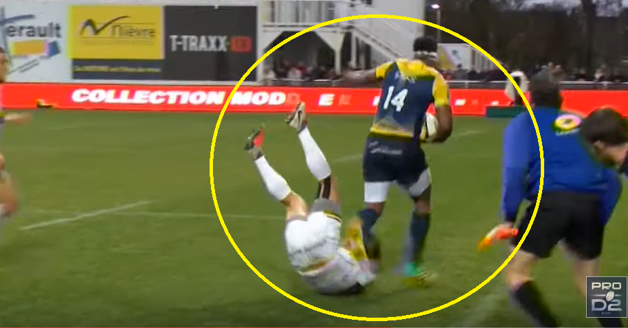 Disgraced Fijian rugby player scores some pretty tasty tries in the ProD2