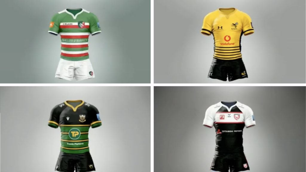 Someone has designed kits for all the Premiership teams and they are UNREAL