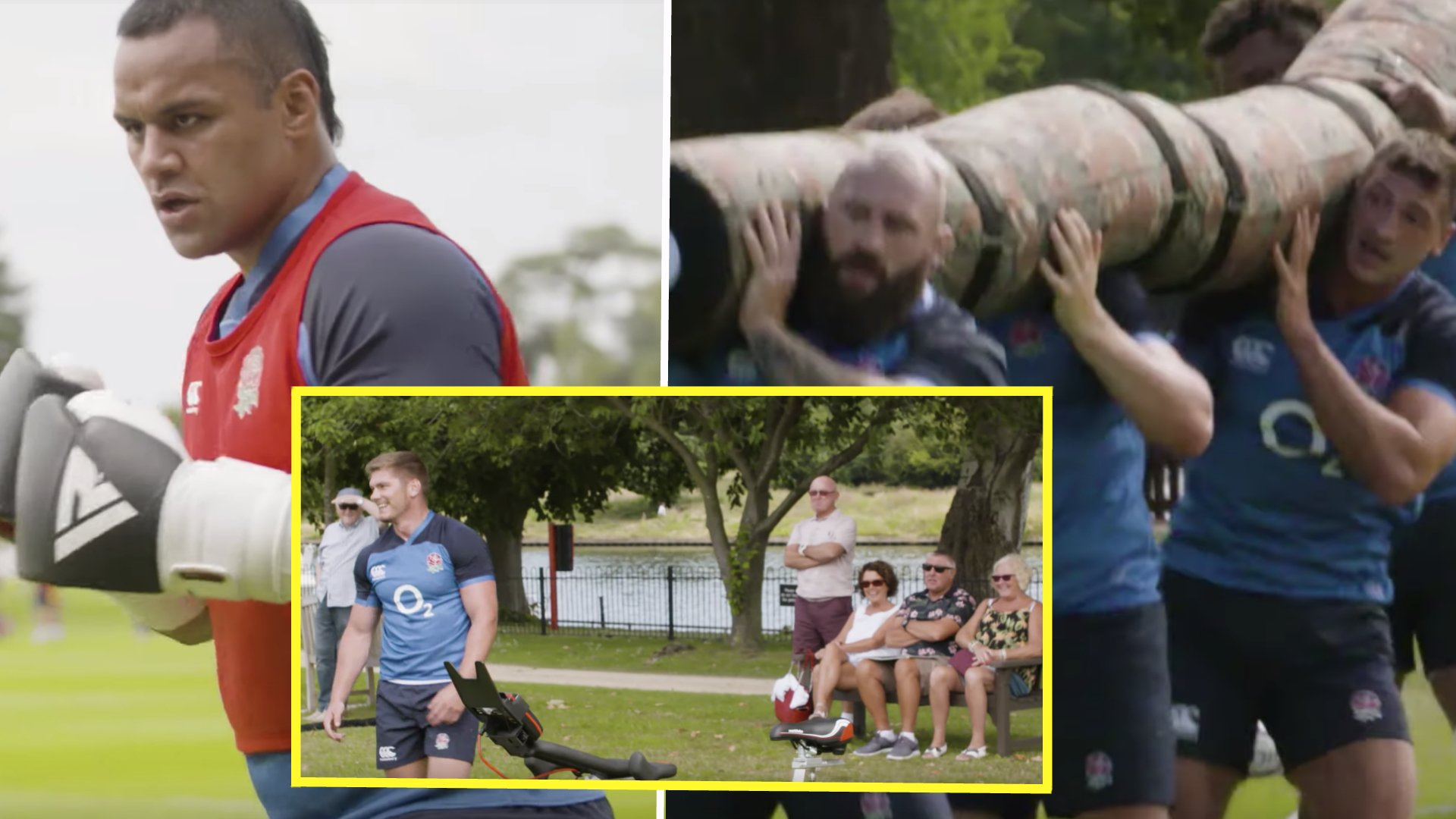 WATCH: The UNPRECEDENTED access that England Rugby is giving the public of their World Cup training camps