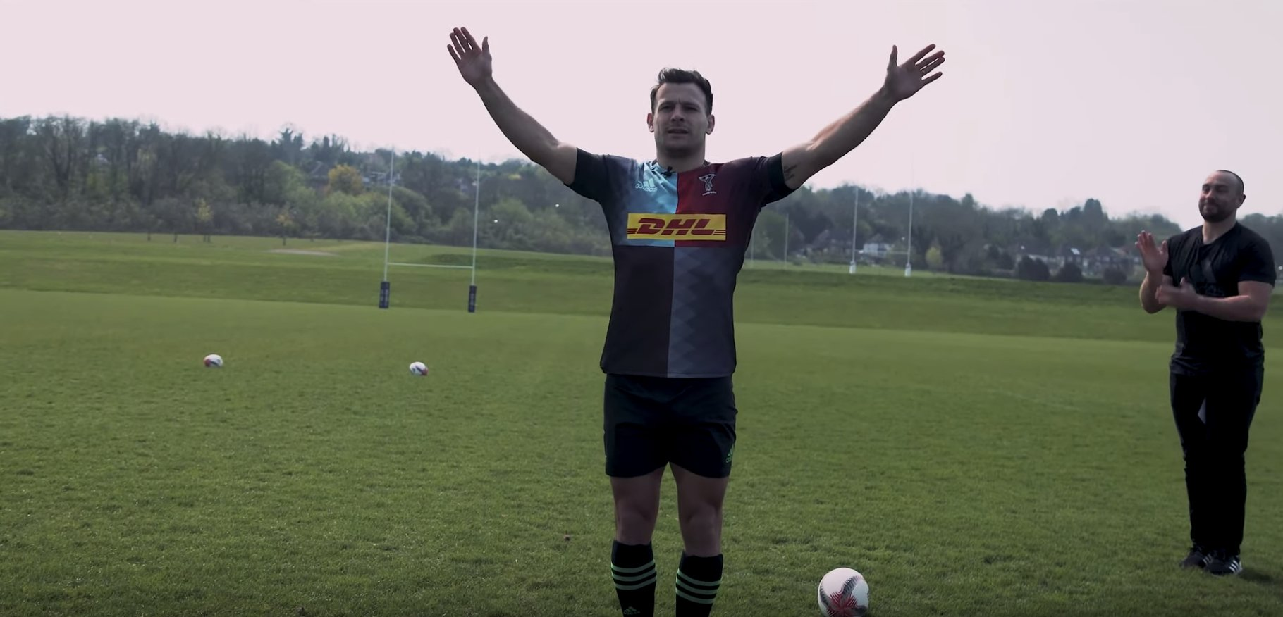 Danny Care goes through his best celebrations in rugby ever