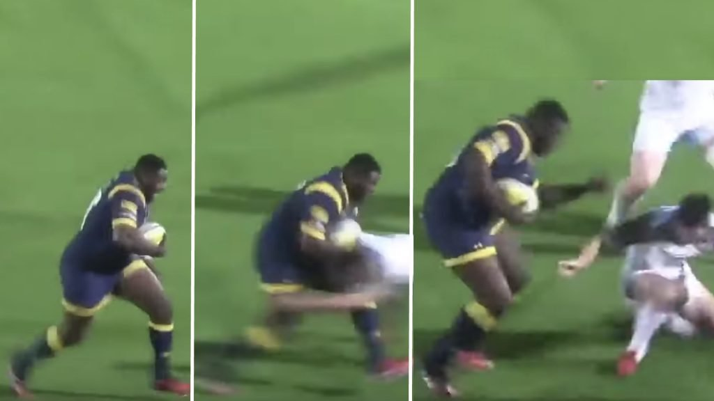 A compilation of the heaviest players in rugby has been made and it's pure carnage