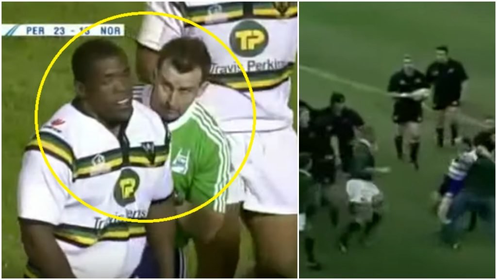 When rugby referees fight back... or just get battered