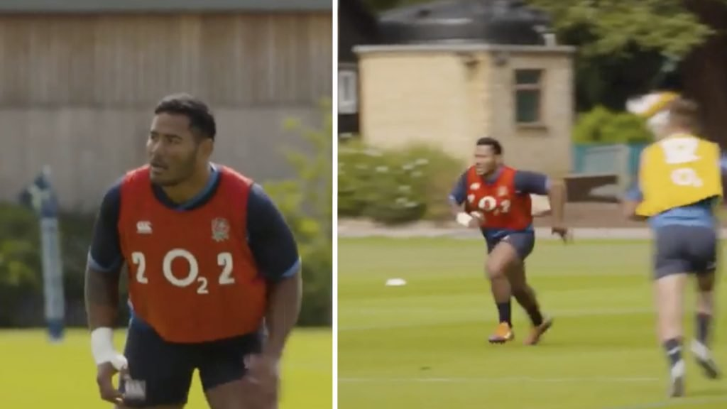 Tuilagi looks ferocious in England training