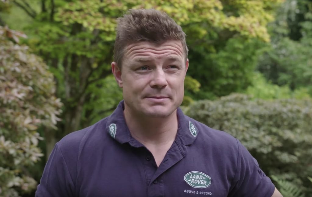 Brian O'Driscoll tips England to win the World Cup