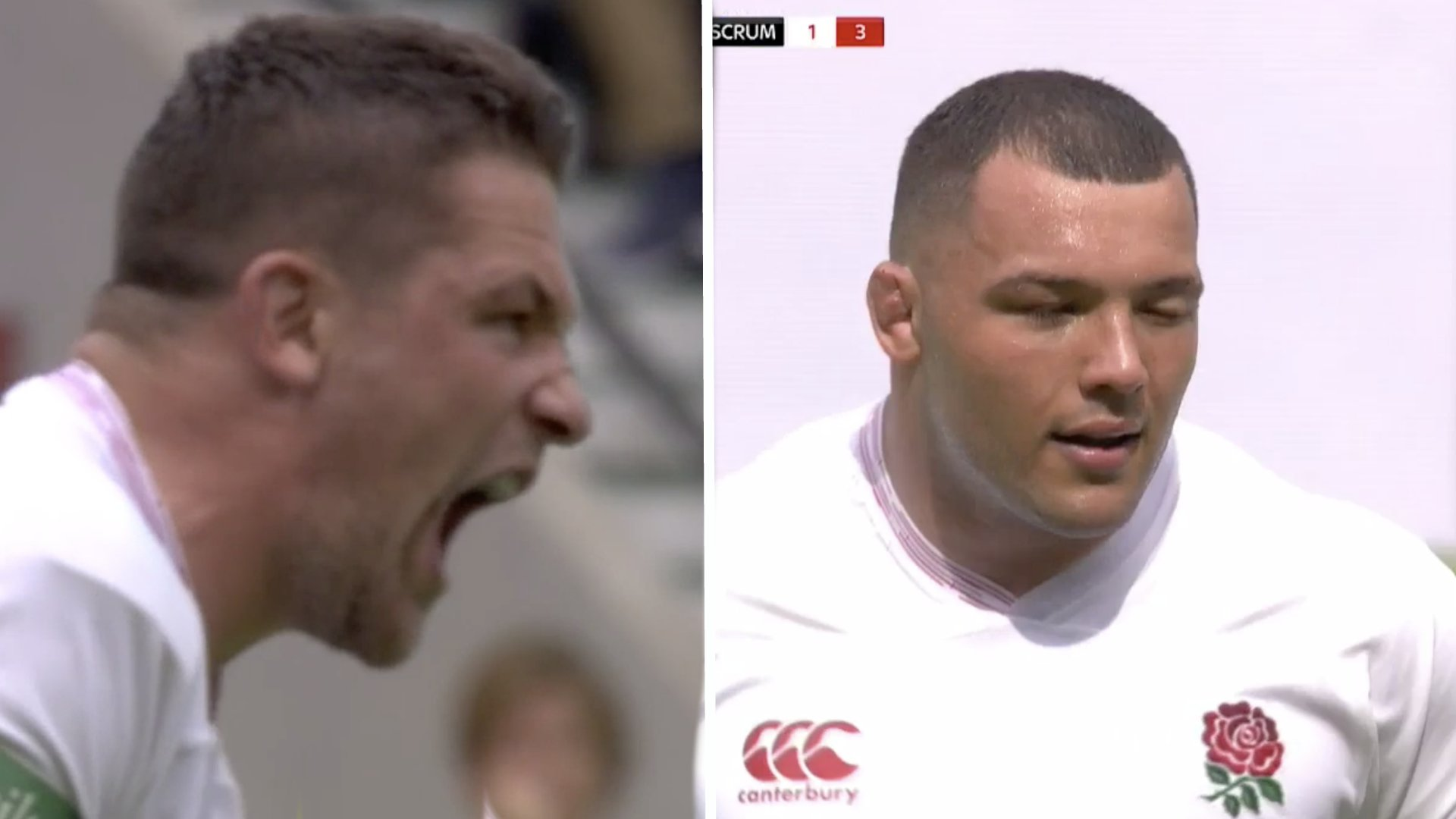 English scrum destroys the Welsh with terrifying ease