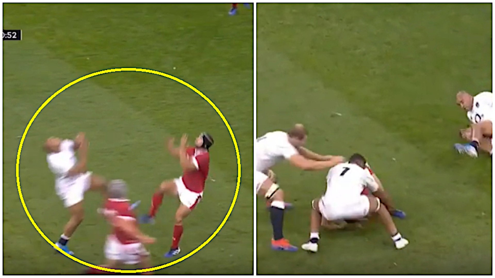 JJ and Halfpenny should both have been sent off for recklessness