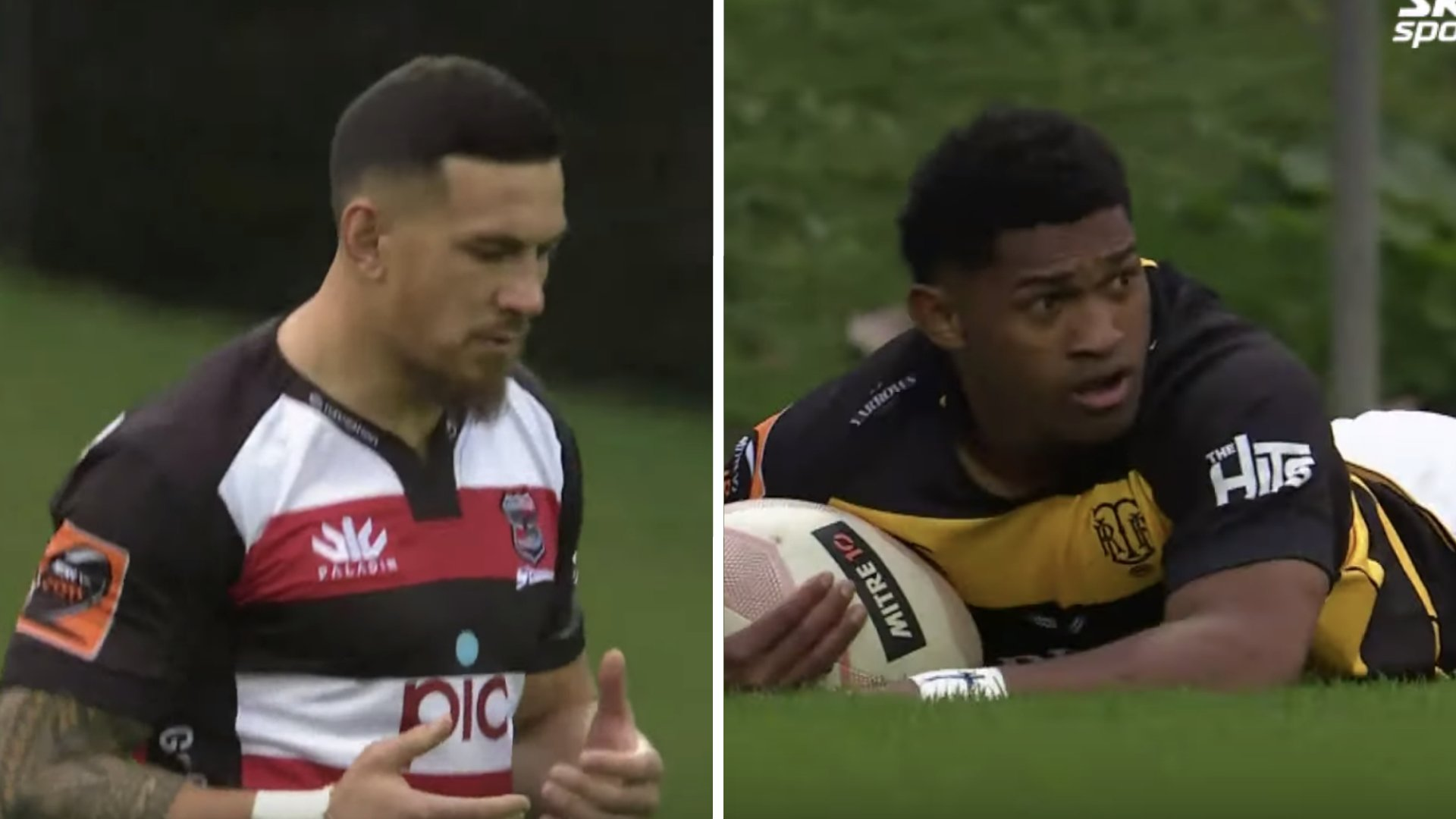 Sonny Bill Williams and Waisake Naholo put in outstanding performances as All Blacks are crunched