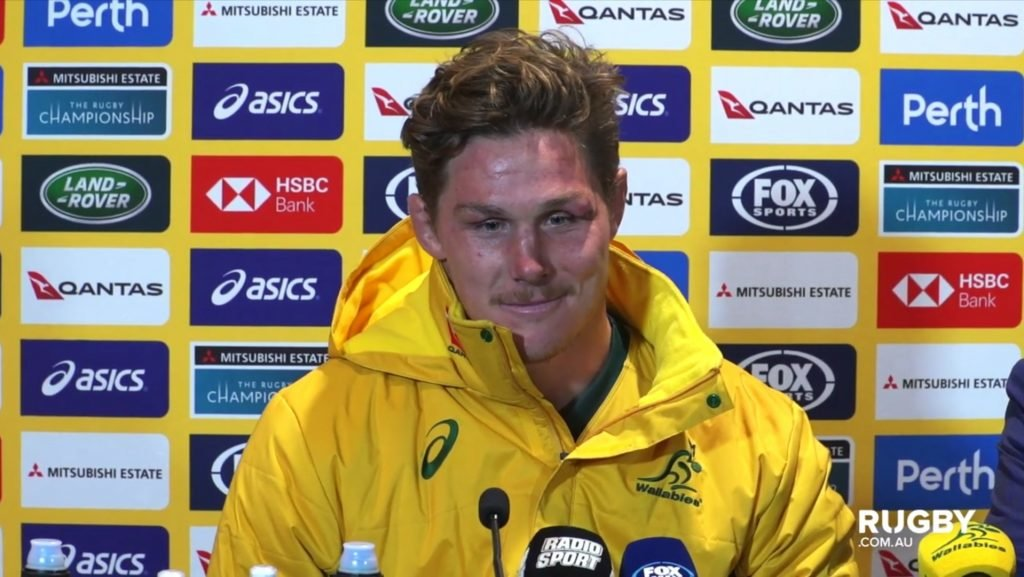 Every brilliant second of the Wallabies press conference
