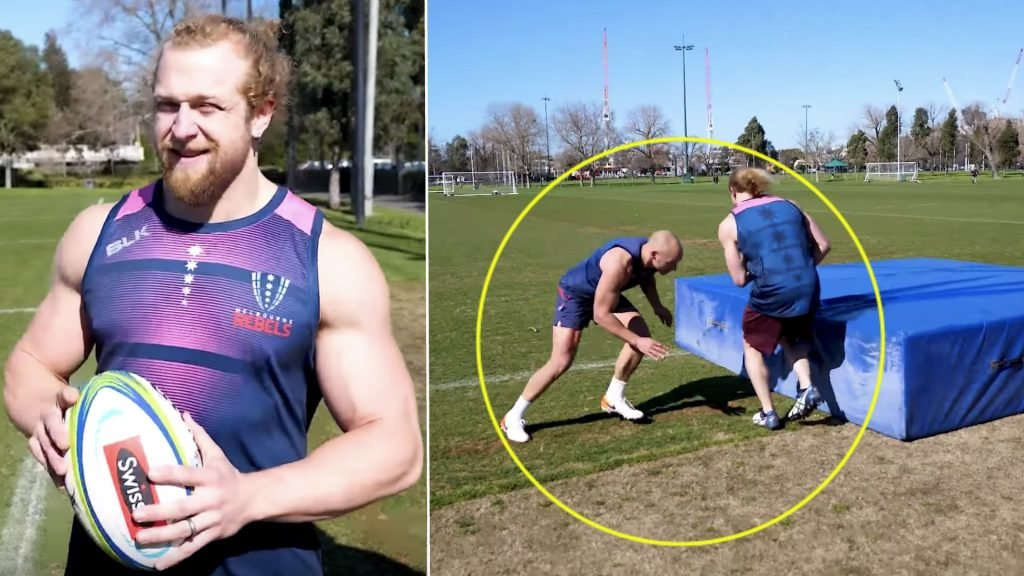 Bodybuilder experiences brutal introduction to rugby