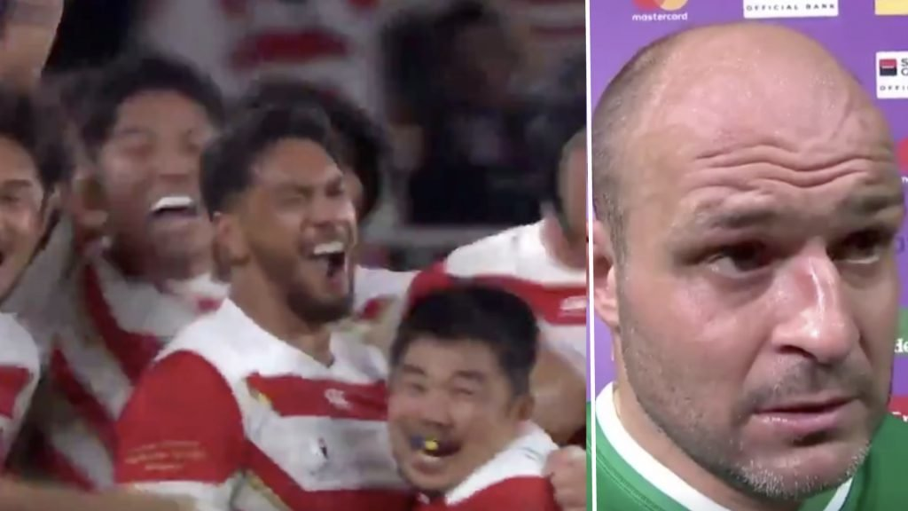 WATCH:  Japan have achieved the impossible AGAIN against Ireland