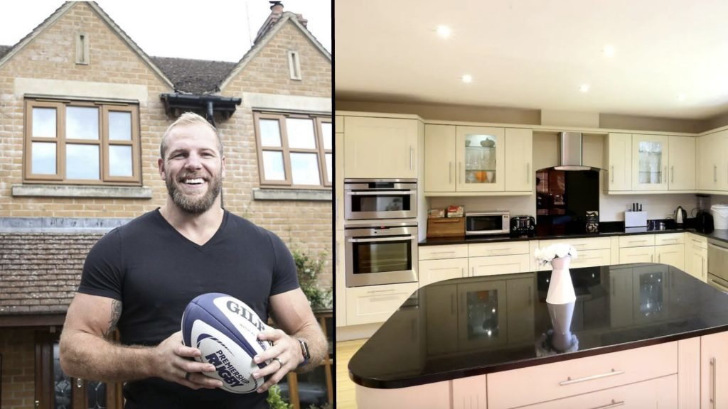 James Haskell is renting his house on Airbnb during the World Cup