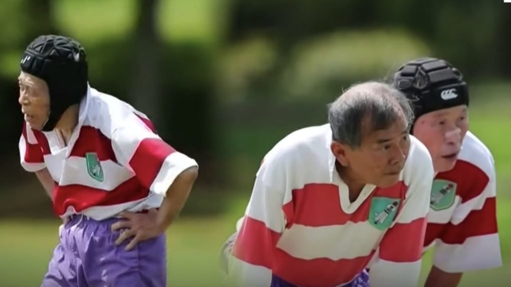 WATCH: The Japanese veteran rugby team that has an 86-year-old player