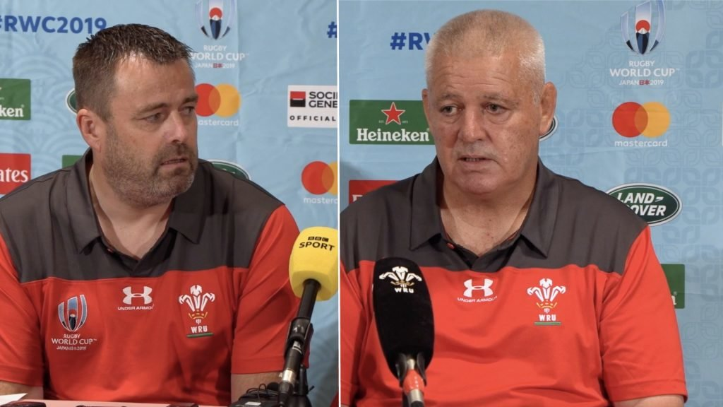 Wales reveal exactly what happened with Rob Howley