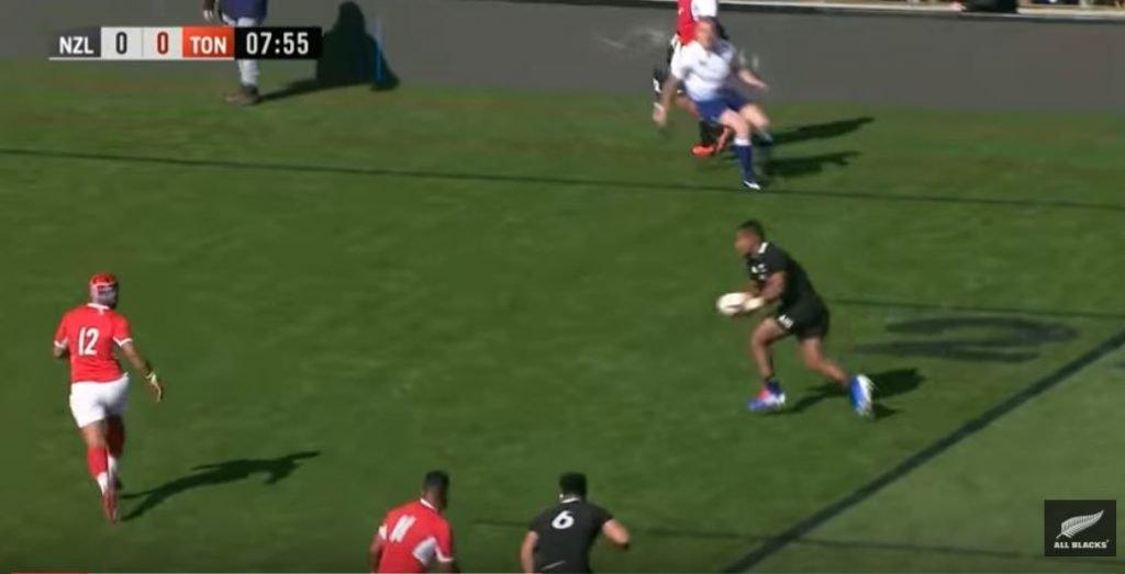 Fijian Sevu Reece scores first All Blacks try