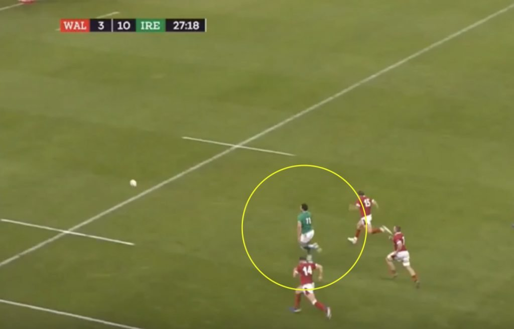 Definitive prove that Jacob Stockdale is still the best winger in World Rugby
