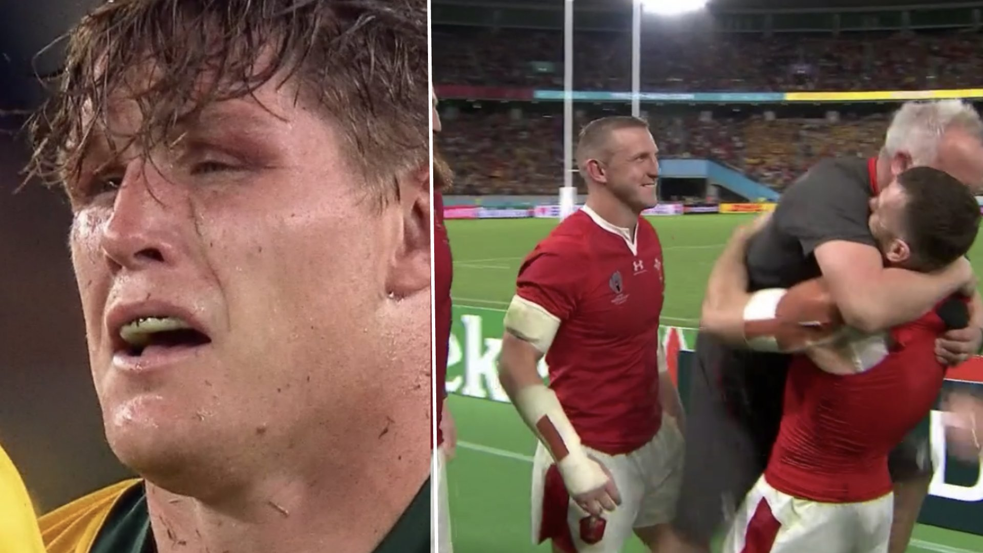 Wales hold on for incredible victory over Australia