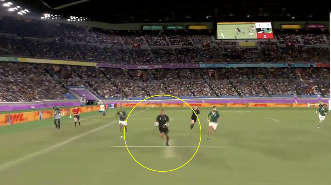 A STUNNING new camera angle has been introduced for the World Cup