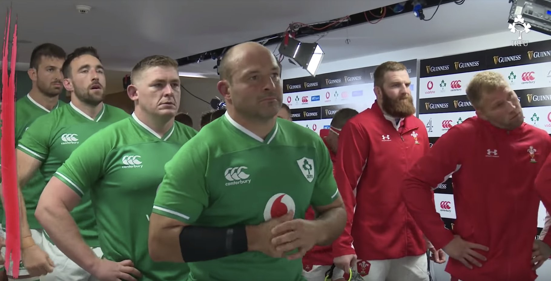 The moment Rory Best walked out of his last home game