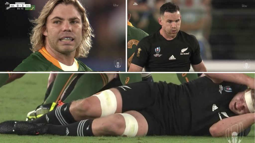 WATCH: All Blacks dominating in UNBELIEVABLY intense World Cup match