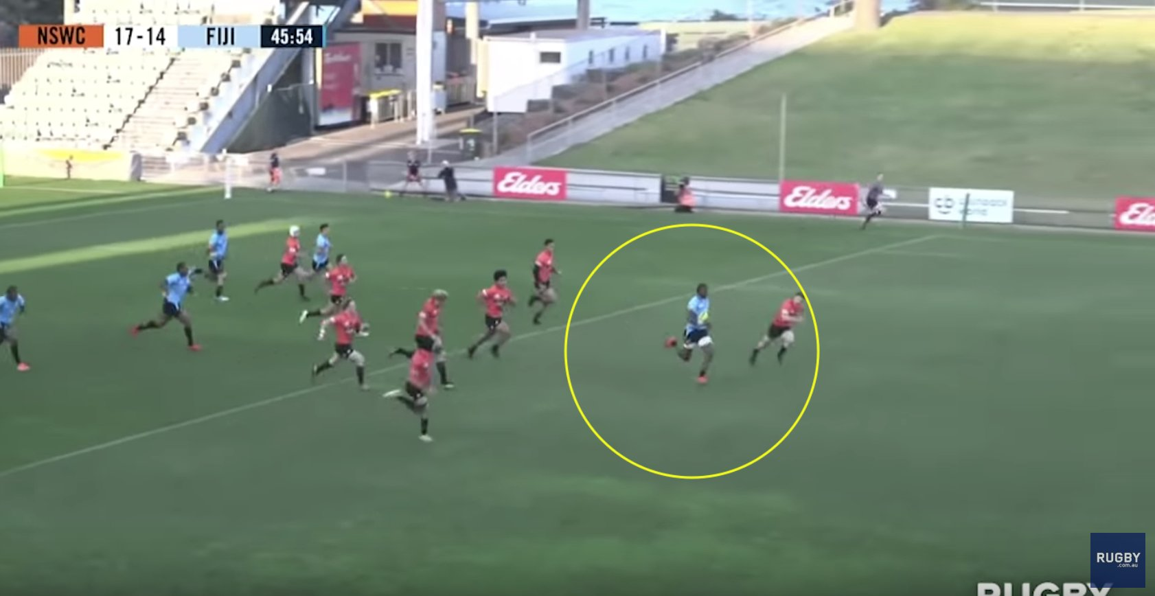 A Fijian team may very well have scored the try of the year