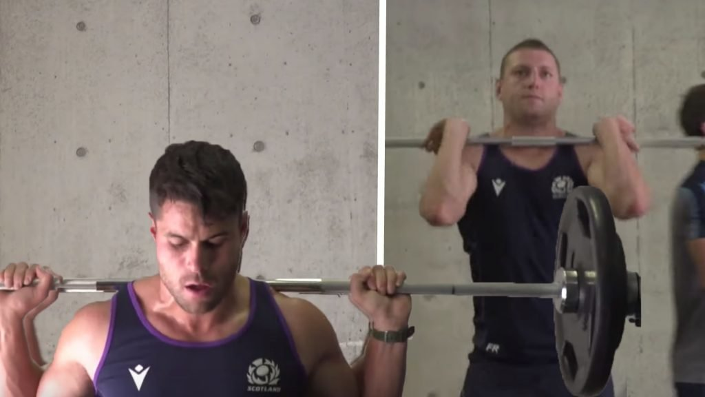 Scotland look suitably JACKED as they train for World Cup
