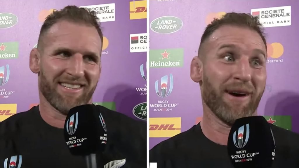 Kieran Read on top form in interview after South Africa win