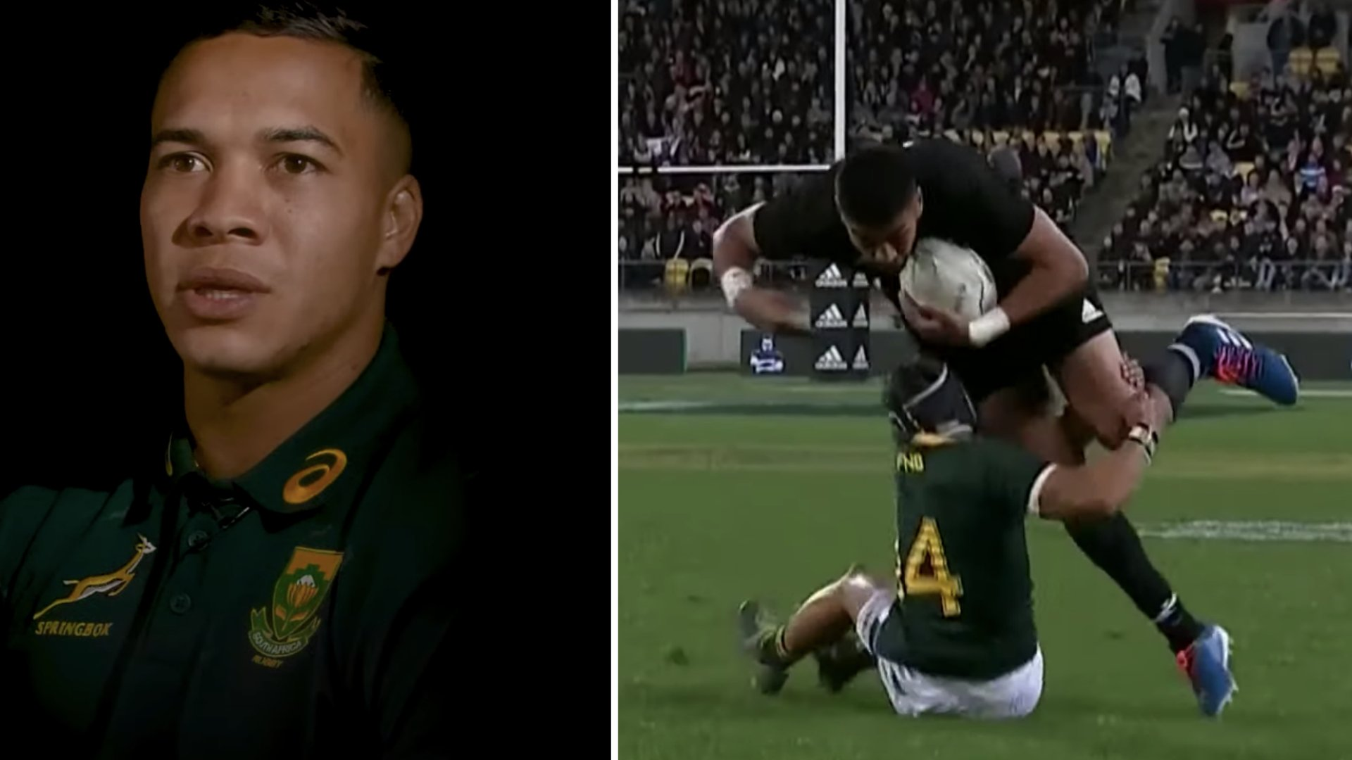 Every small person playing rugby should watch this