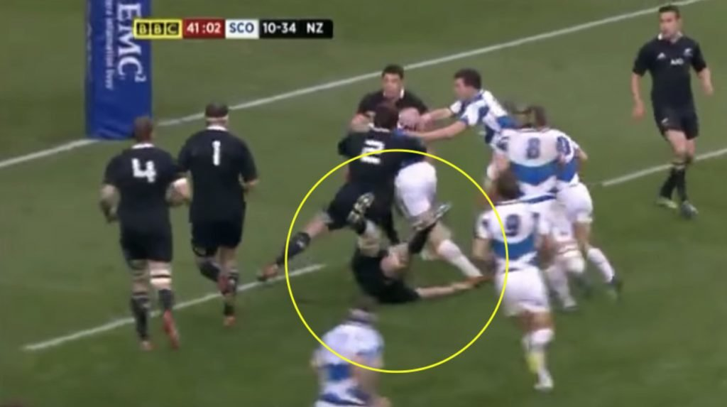 WATCH: The time retiring David Denton destroyed Richie McCaw