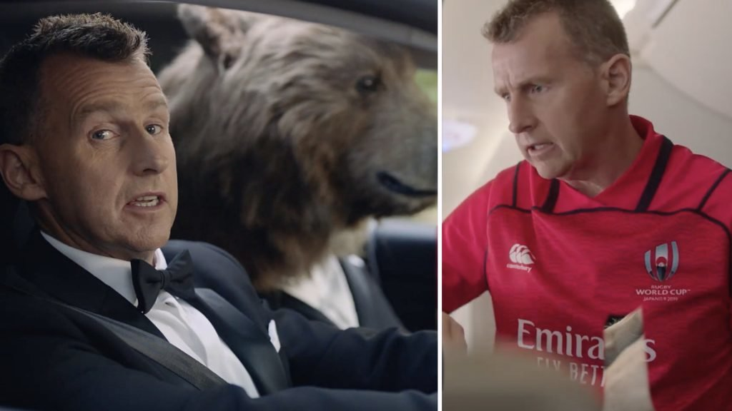 Nigel Owens is the gift that keeps on giving in hilarious World Cup ads