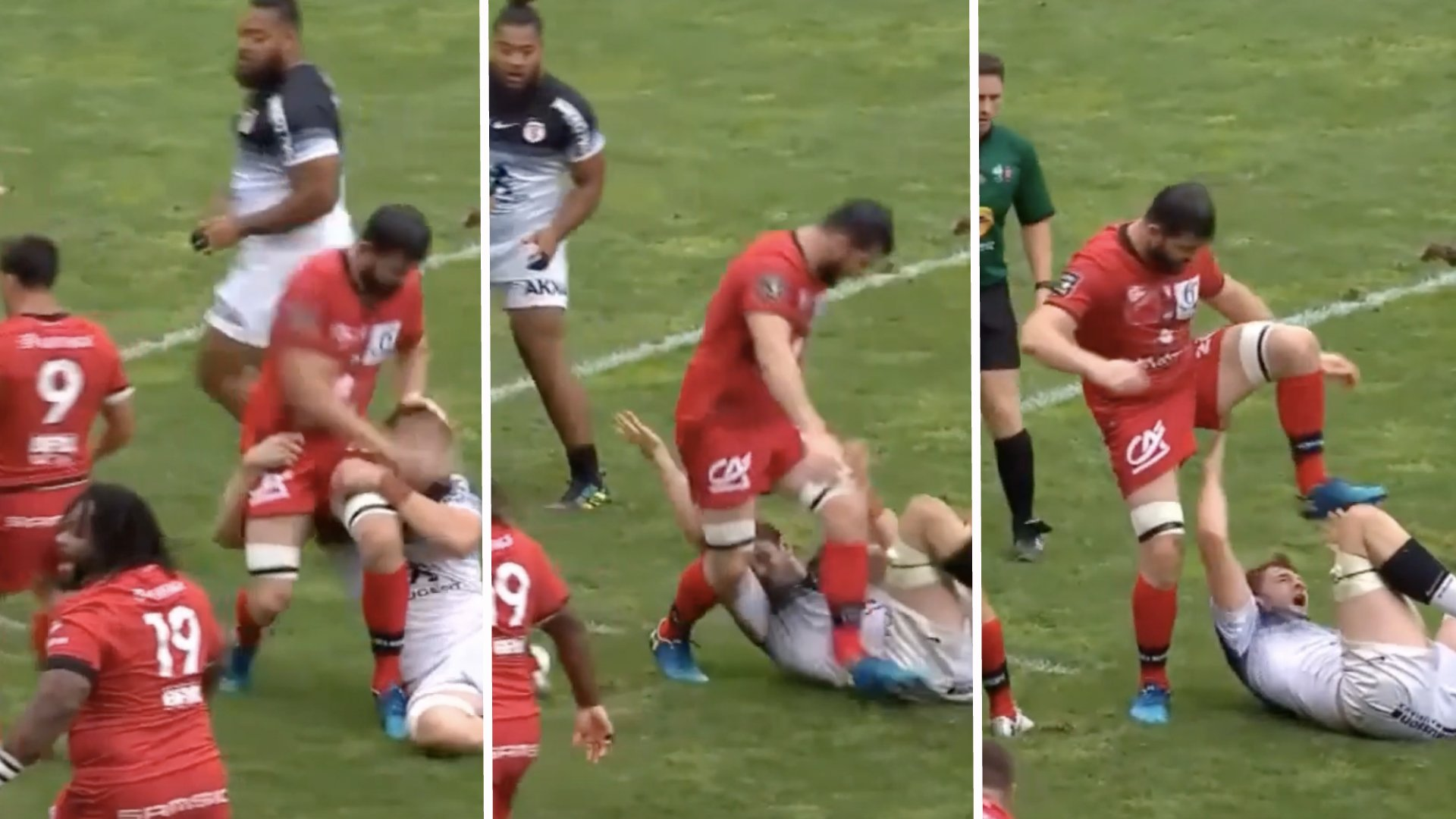 Shocking footage emerges of Richie Gray being stamped