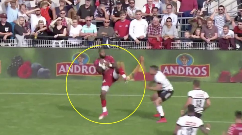 Probably the best try of the decade has been scored in the Top 14 over the weekend