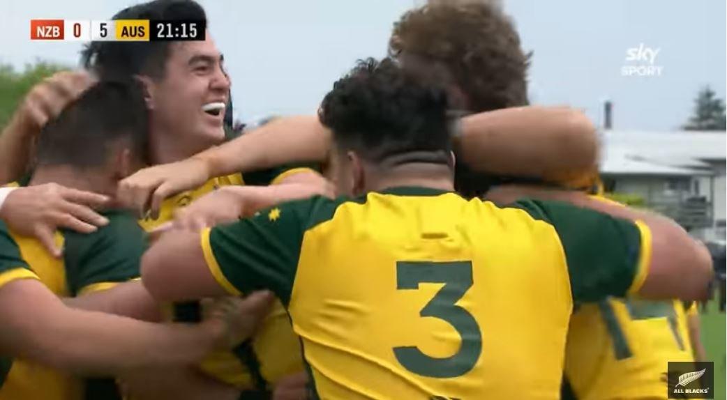 FOOTAGE: Australian schoolboys thrash All Blacks equivalents in NZ