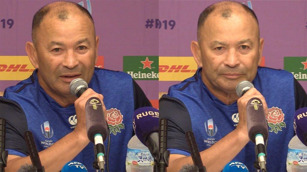 Emotional Eddie Jones remembers friend in pre-Argentina press conference