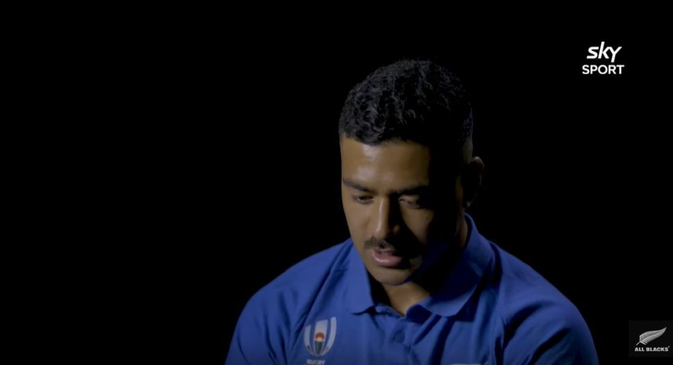 Richie Mo'unga gets emotional talking about best mate that didn't make All Blacks