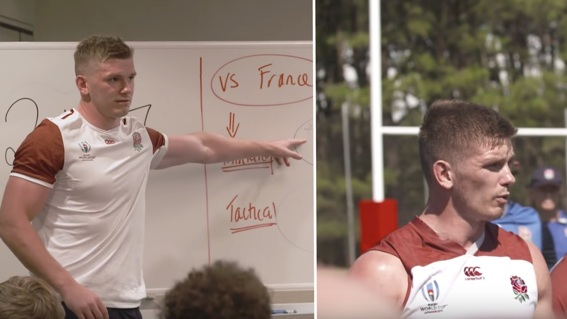Owen Farrell's leadership in recent Rising Sons episode is reason why England will win the World Cup