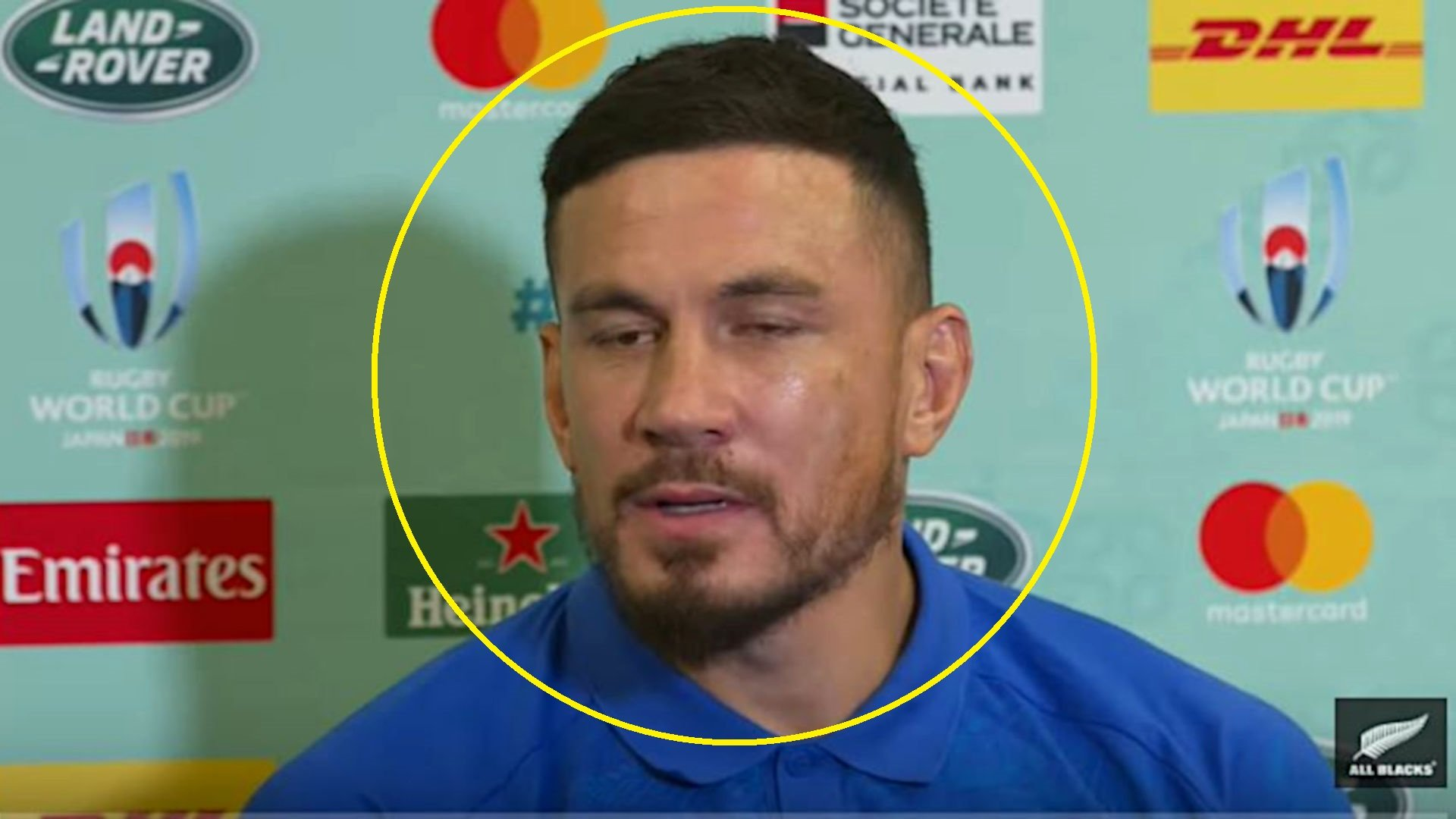 Sonny Bill saved his worst performance yet for Monday's press conference