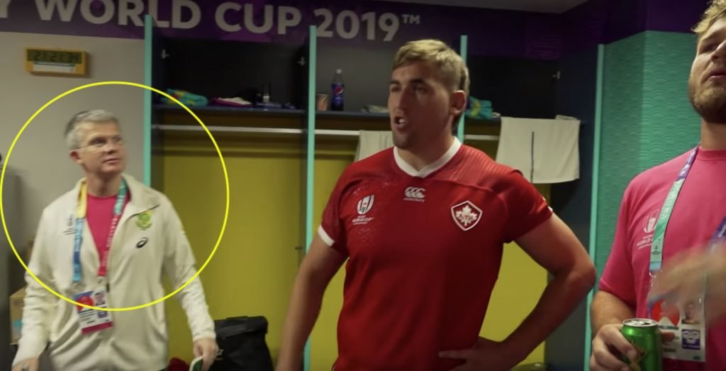 The incredible act of humility from the Canadian player that was red carded against South Africa