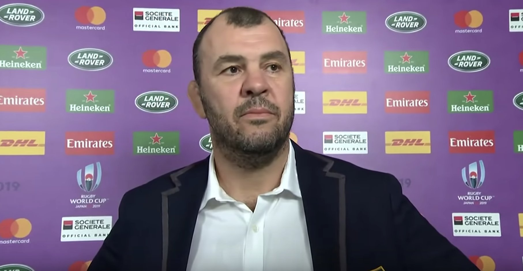 Michael Cheika makes frank but funny admission about Australia and their tactics