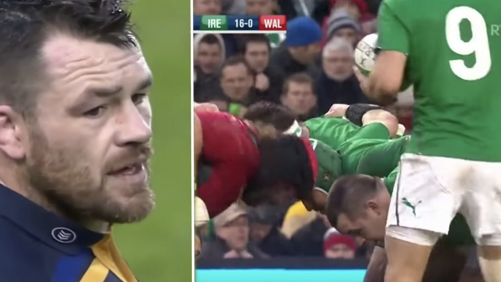 Cian Healy is an utter thug in dark new compilation video