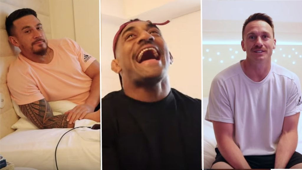 All Blacks stars come across extremely well in intimate player-made VLOG