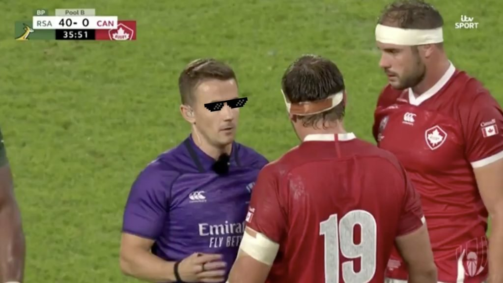Luke Pearce universally praised for his immaculate refereeing of South Africa match