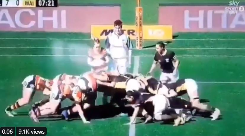 Former Premiership winner shares upsetting footage of scrum gone wrong
