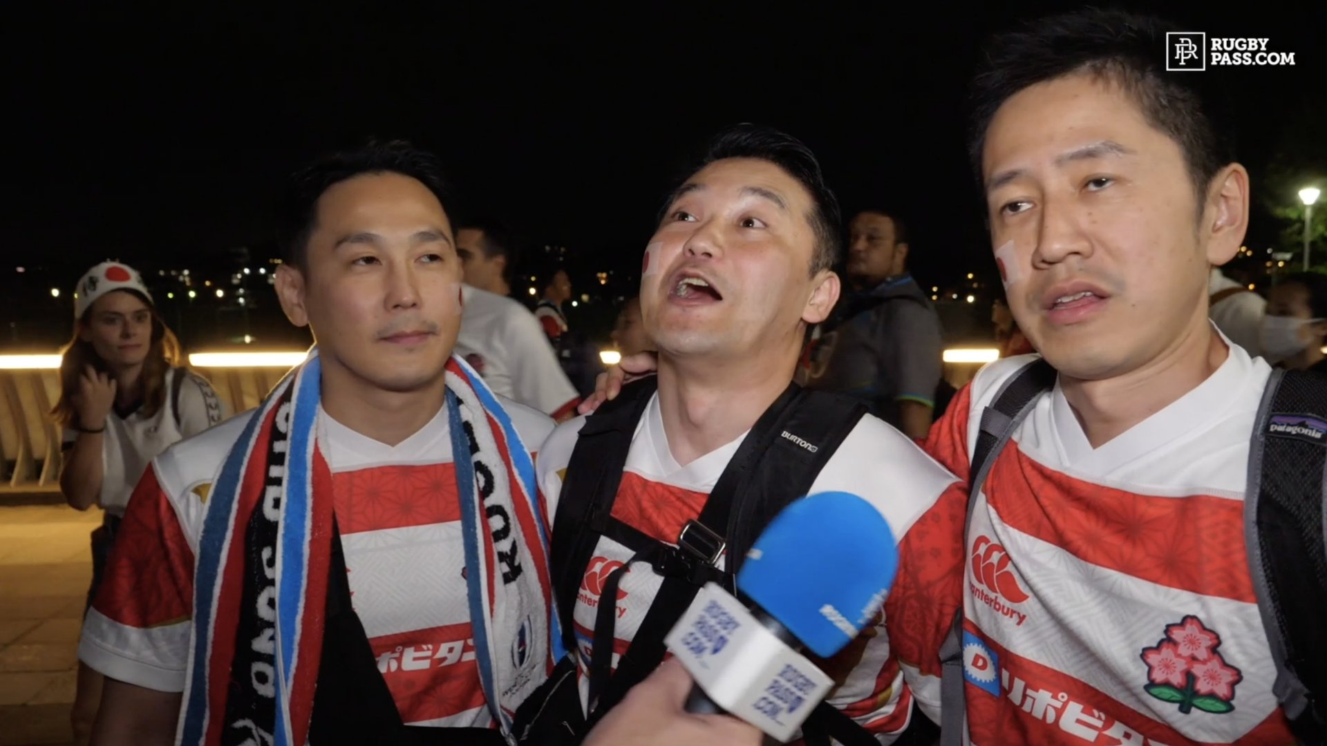 These 3 Japanese fans have everyone talking with their hilarious post-match interview