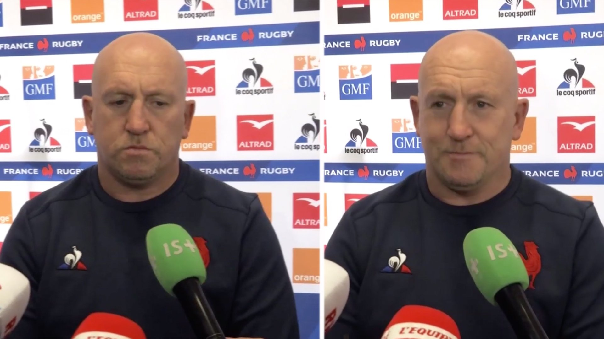 Shaun Edwards first french interview is nothing short of comedy gold