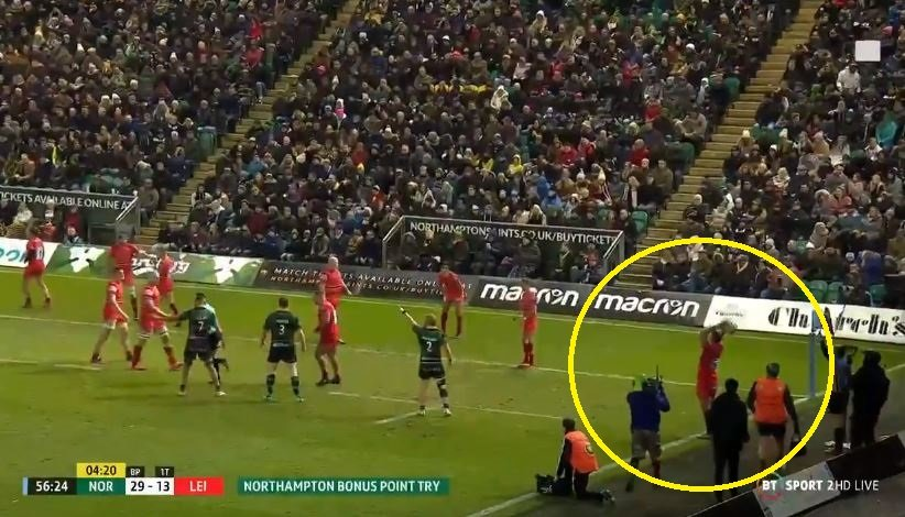 Leicester Tigers basically score a rugby own goal